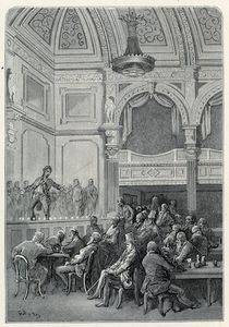 Paul Gustave Doré - Evans's Song And Supper Rooms