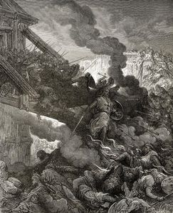Paul Gustave Doré - Godfrey Enters Jerusalem