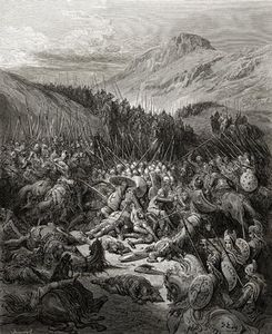 Paul Gustave Doré - The Battle Of Arsuf