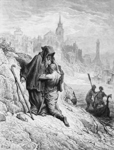 Paul Gustave Doré - The Mariner Begs The Hermit To Give Him Absolution From His Sin