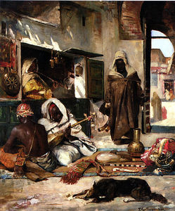 Gyula Tornai - An Arms Merchant In Tangiers