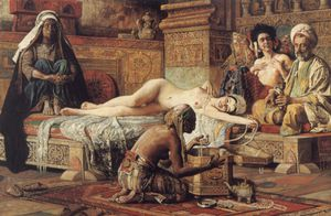 Gyula Tornai - In The Harem