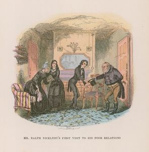 Order Reproductions | Nicholas Nickleby (11) by Hablot Knight Browne (1815-1882, United Kingdom) | WahooArt.com