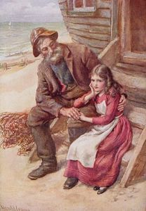 Harold Copping - Peggotty And Little Emily