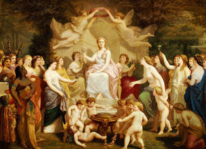 Henri Pierre Picou - An Allegory Of Spring