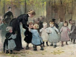 Henri Jules Jean Geoffroy Dit Geo - In The Playground