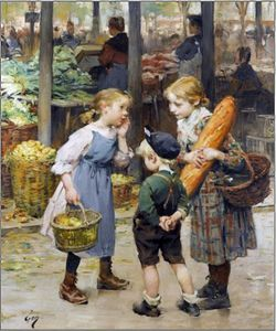 Henri Jules Jean Geoffroy Dit Geo - The Menageres Girls