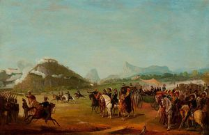 Jean Baptiste Debret - Journal Of The Troops Destined To Montevideo In Praia Grande
