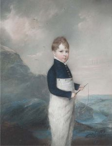 John Raphael Smith - Three Portraits Of The Corbett Family Including