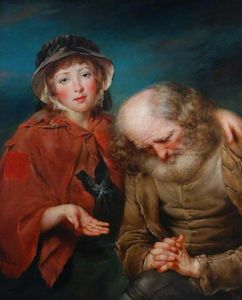 John Russell - The Blind Beggar And His Granddaughter