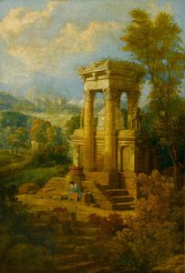 Joseph Michael Gandy - Classical Composition, A Tomb
