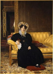 Louis Hersent - Madame Jean-charles Clarmon