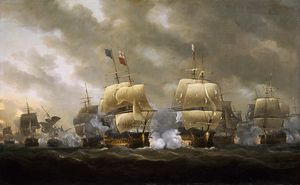 Nicholas Pocock - The Battle Of Quiberon Bay