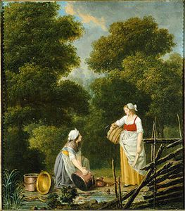 Pehr Hillestrom - Two Maids In A Creek