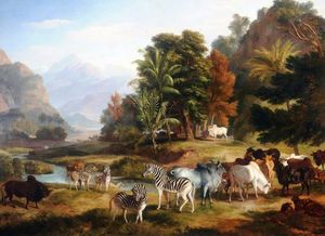 Ramsay Richard Reinagle - Landscape With Animals