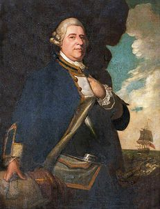 Richard Cosway - Admiral Michael Everitt