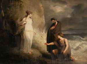 Richard Westall - Telemachus Landing On The Isle Of Calypso