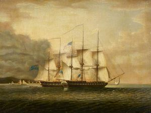 Robert Dodd - Hms 'shannon' Taking Uss 'chesapeake'