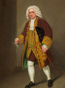 Samuel De Wilde - Richard Wilson As Sir Francis Wronghead In 'the Provok'd Husband' By Colley Cibber, Covent Garden