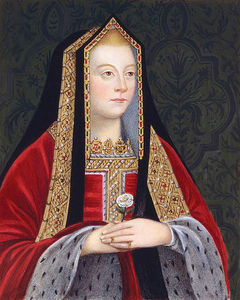 Sarah Countess Of Essex - Elizabeth Of York, Right Facing Portrait