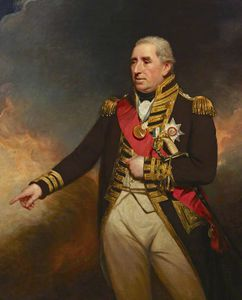 William Beechey - Admiral Sir John Thomas Duckworth
