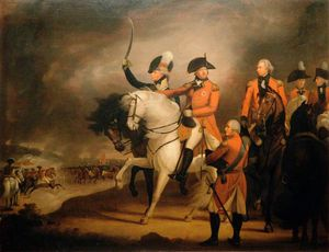 William Beechey - King George Iii Reviewing The 10th Dragoons