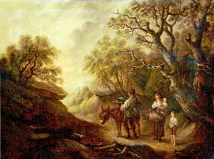 Thomas Barker - The Woodcutter's Family