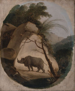 Thomas And William Daniell - The Indian Rhinoceros