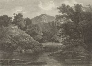 Thomas Daniell - View In The Tinnevele District, East India