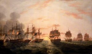 Thomas Luny - The Battle Of The Nile
