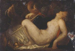Thomas Stothard - A Nymph Sleeping