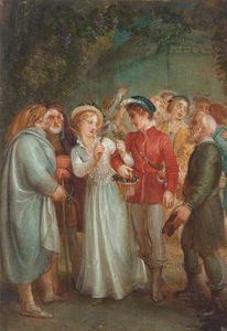 Thomas Stothard - A Scene From William Shakespeare's 'a Winter's Tale'