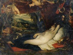 Thomas Stothard - Diana Sleeping
