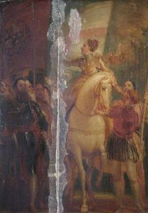 Thomas Stothard - Queen Elizabeth At Tilbury