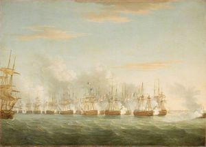 Thomas Whitcombe - The Battle Of The Nile