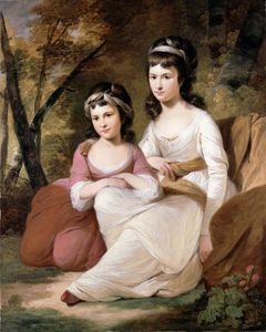 Tilly Kettle - Eliza And Mary Davidson