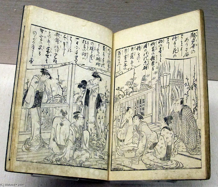 Order Museum Quality Copies | With Mountain View by Torii Kiyonaga (1752-1815, Japan) | WahooArt.com