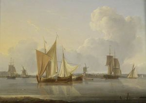 William Anderson - Limehouse Reach, London
