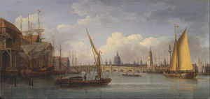 William Anderson - London Bridge, With St. Paul-s Cathedral In The Distance