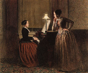 William Henry Hunt - The Musical Conversation