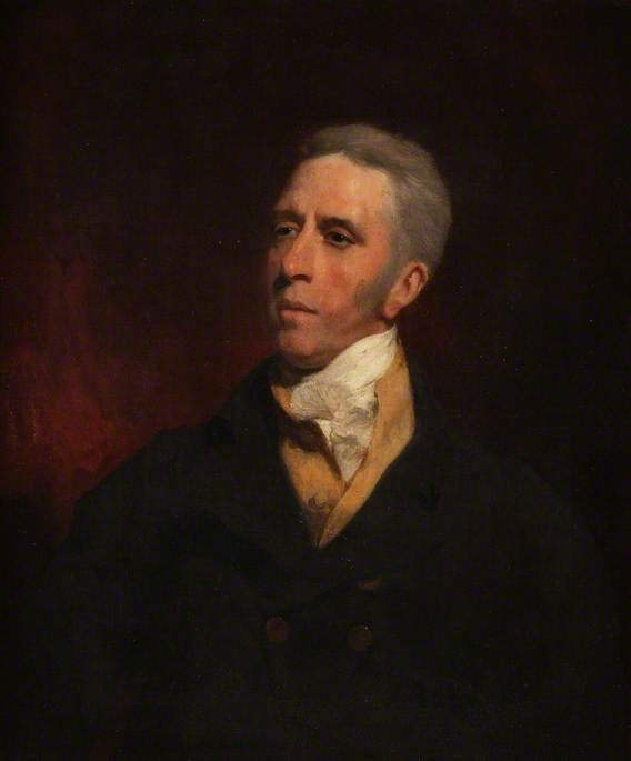 Abraham Caldecott by William Owen (1769-1825, United Kingdom) | Art Reproduction | WahooArt.com