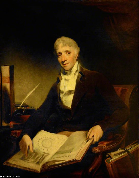 John Soane by William Owen (1769-1825, United Kingdom) | Famous Paintings Reproductions | WahooArt.com