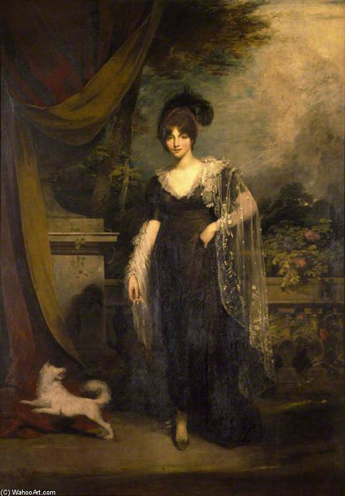Mrs Robinson by William Owen (1769-1825, United Kingdom) | Famous Paintings Reproductions | WahooArt.com