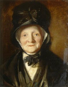Order Painting Copy : Portrait Of An Old Lady by William Owen (1769-1825, United Kingdom) | WahooArt.com