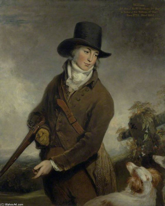 Reverend William Heathcote by William Owen (1769-1825, United Kingdom) | Museum Quality Reproductions | WahooArt.com