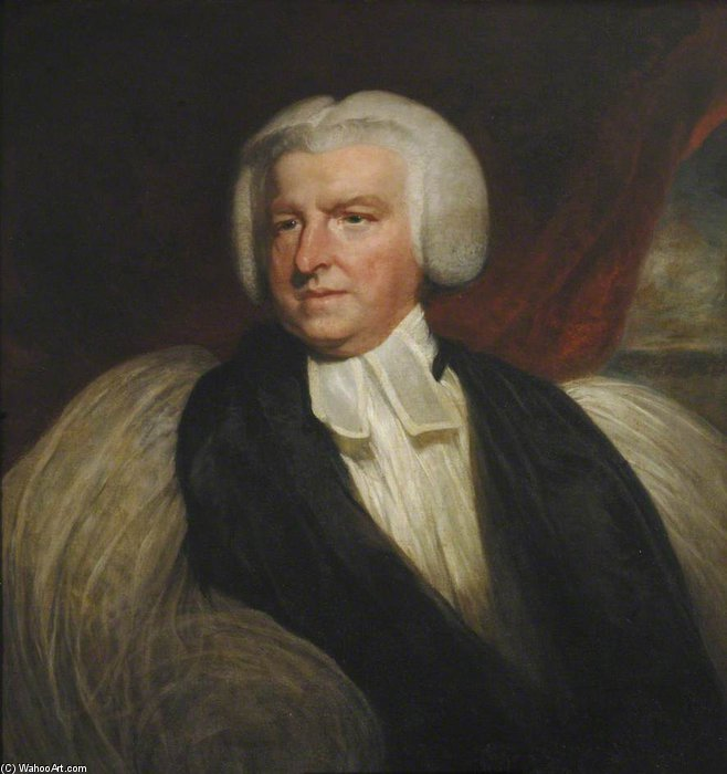 Shute Barrington - by William Owen (1769-1825, United Kingdom)