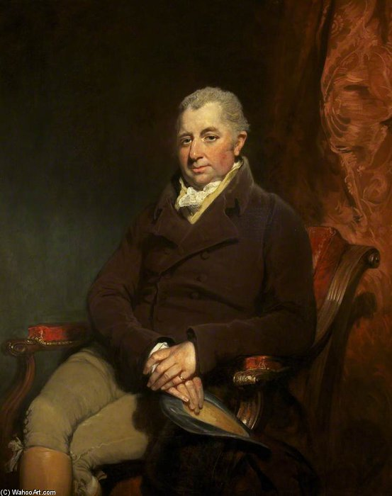 Sir Charles Gould Morgan-robinson by William Owen (1769-1825, United Kingdom) | WahooArt.com