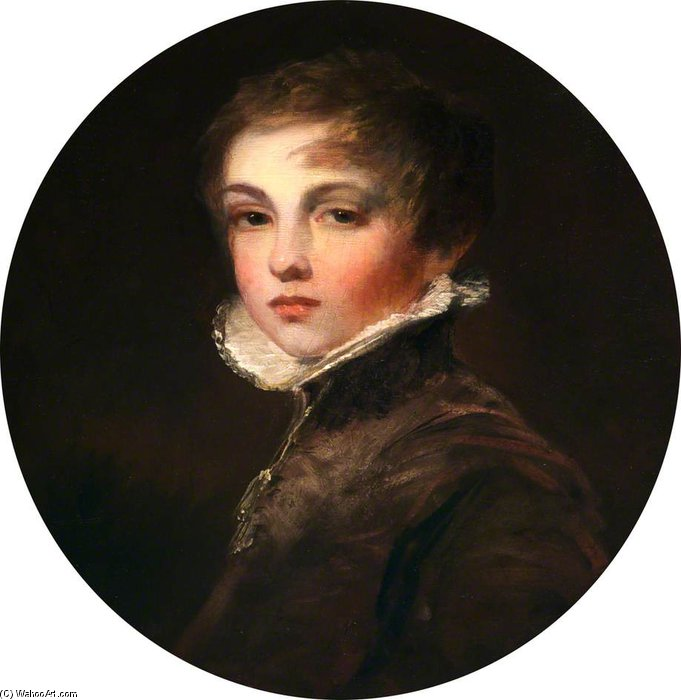 The 2nd Lord De Tabley, As A Boy by William Owen (1769-1825, United Kingdom) | Art Reproduction | WahooArt.com