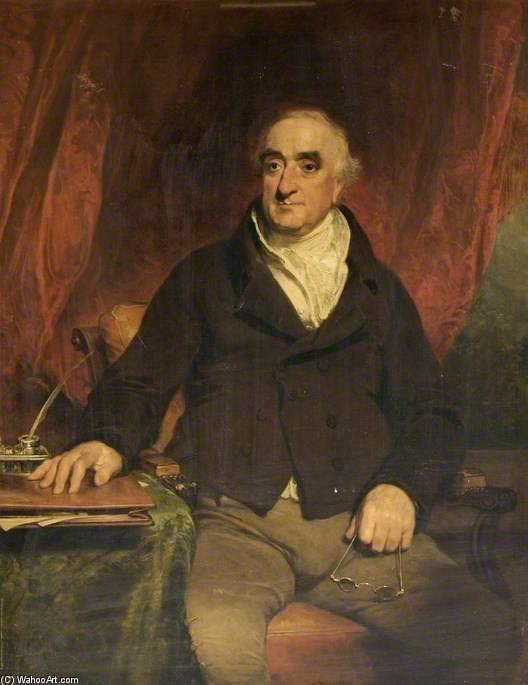 Order Art Reproduction : Praed, First Chairman Of The Grand Junction Canal Company by William Owen (1769-1825, United Kingdom) | WahooArt.com