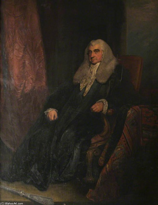 Scott, Baron Stowell, Judge Of The High Court Of Admiralty by William Owen (1769-1825, United Kingdom)